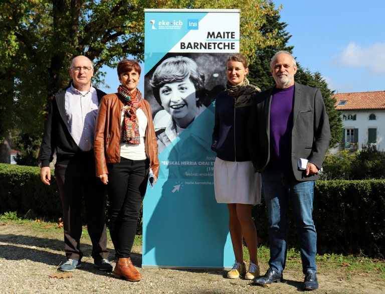 Maite  Barnetcheren  emankizunak  Uztaritzeko  Euskal  Kulturaren  erakundearen  egoitzan  ikusgai