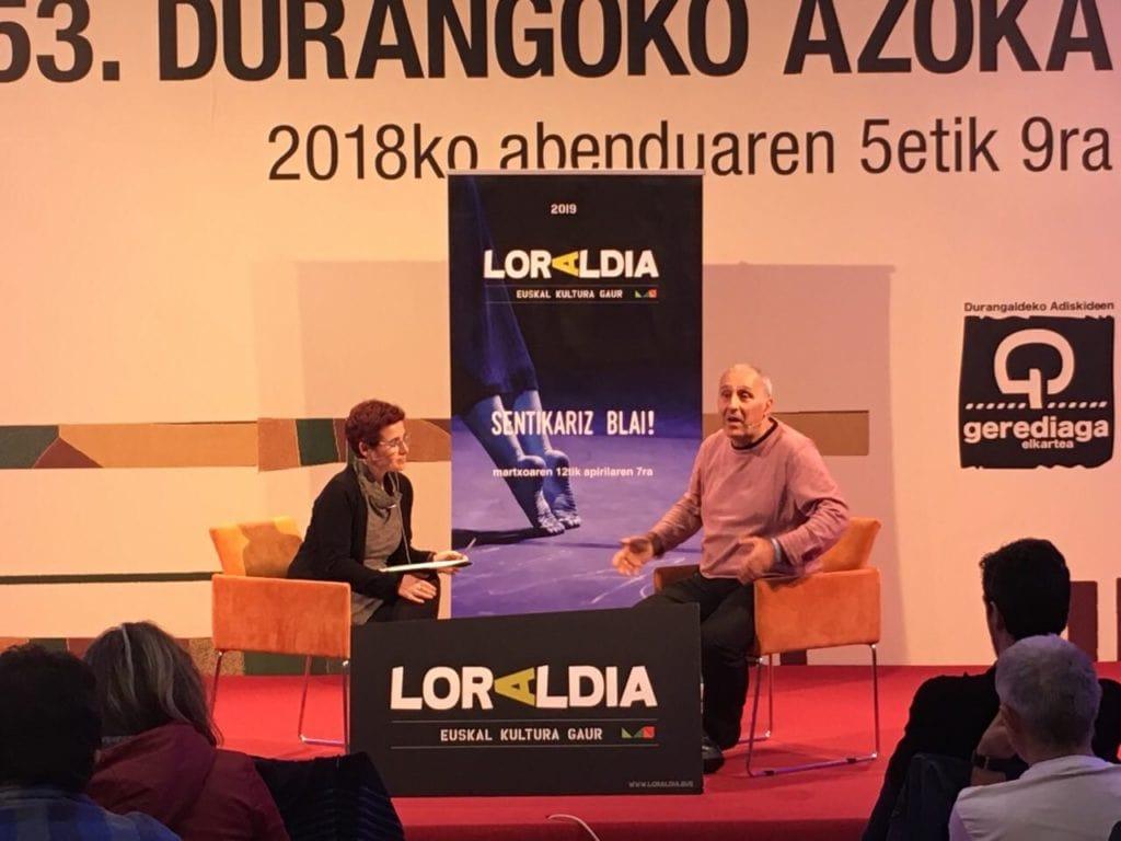 Loraldia  jaialdia  2019ko  martxoaren  12a  eta  apirilaren  7a  bitartean