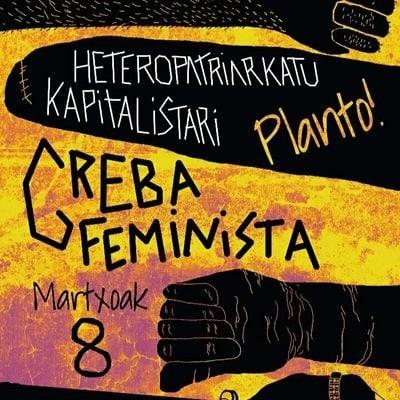 Kultur  Shareak  Martxoaren  8ko  greba  feministarekin  bat  egiten  du