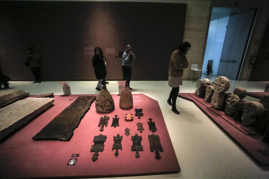 Donostiako  San  Telmo  museoak  'Heriotza'  erakusketa  aurkeztu  du.