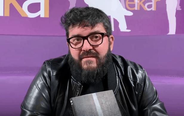 'Lerro  Etena'  liburua  ondu  du  Angel  Erro  idazleak