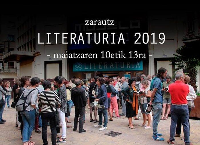 Literaturia  jaialdia,  maiatzaren  10etik  12ra  Zarautzen