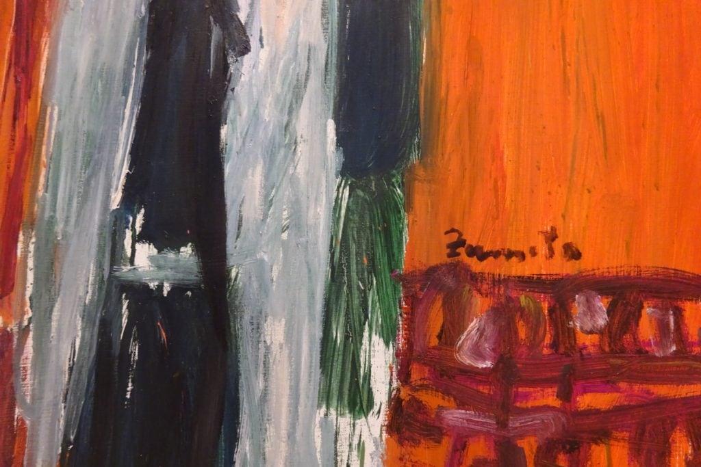 Jose  Luis  Zumeta  margolariaren  pieza  txiki  eta  ertainak  Donostiako  Ekain  galerian  ikusgai