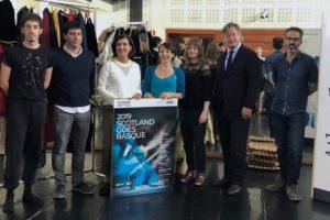 'Atlantik  1050',  Euskal  Herriko  eta  Eskoziako  dantza  tradizionalak  uztartuko  dituen  ikuskizuna  prestatzen  hasi  dira