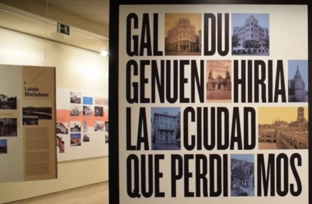 'Galdu  genuen  hiria'  argazki  erakusketa  ikusgai  Donostiako  Okendo  Kultur  Etxean