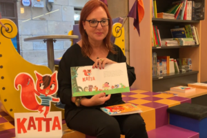Haurrentzako  'Katta'  bilduma  aurkeztu  du  Miren  Agur  Meabek