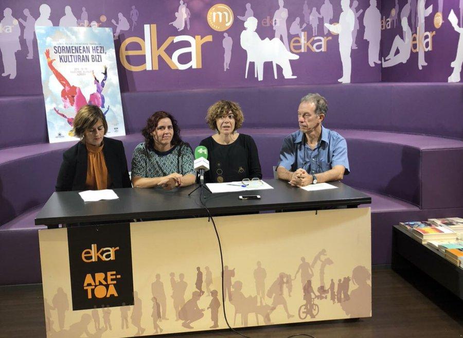 'Euskal  kultur  sorkuntzaren  transmisioa.  Sormenean  hezi,  kulturan  bizi'  jardunaldia  urriaren  19an,  Azpeitian