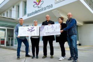 Ikastolen  aldeko  'Tanta'  ekimena  aurkeztu  dute