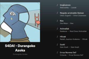 Aurtengo  nobedadeen  musika  zerrenda  kaleratu  du  Durangoko  Azokak