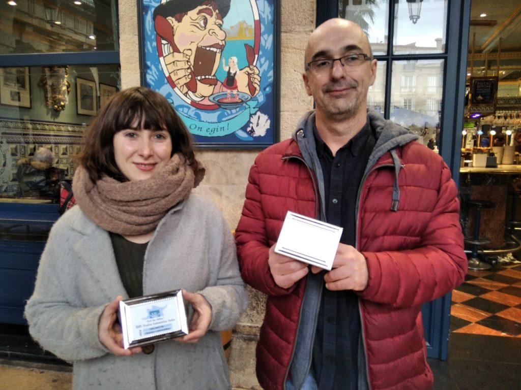 Goiatz  Labandibarrek  eta  Javier  Diez  Carbonak  irabazi  dituzte  XVII.  Cafe  Bar  Bilbao  Teatro  Laburreko  sariak