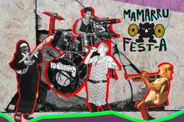 Lehenengo  Mamarru  Fest  jaialdia  aurkeztu  dute  Gasteizen