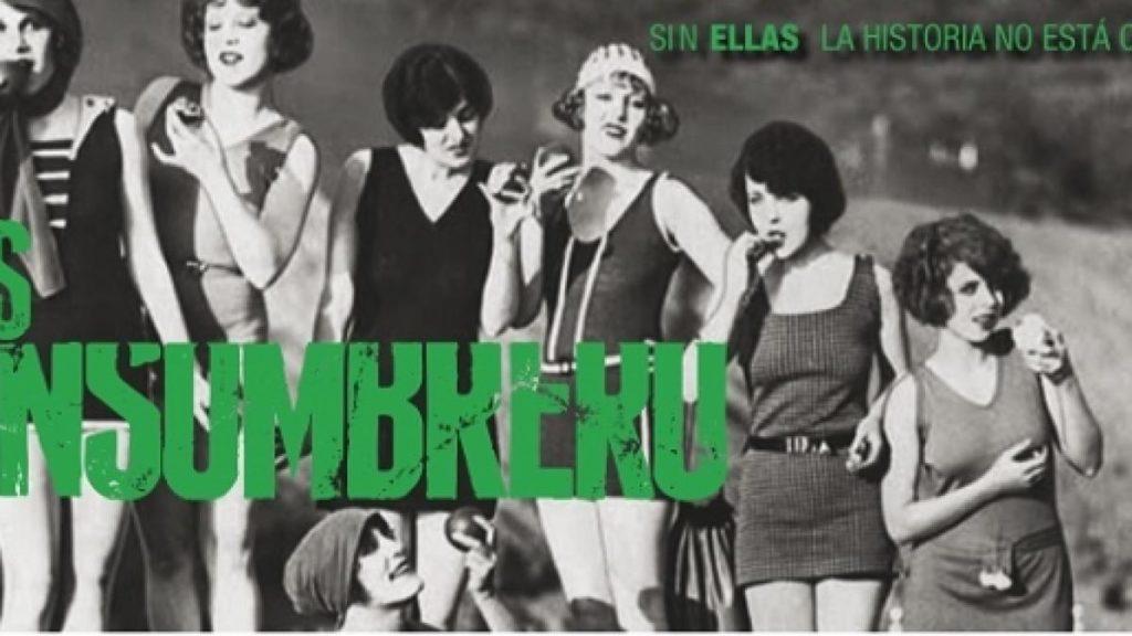 'Las  Sinsombrero:  Genero-,  Sorkuntza-,  Gerra-  eta  Erbeste-Sistema'  izeneko  emanaldia,  Bilbon