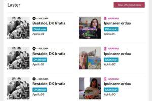 Donostia  Kulturak  eduki  digital  berriak  bultzatuko  ditu  'DKEtxean'  agendatik