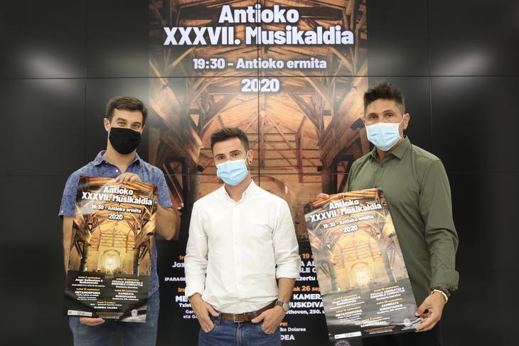 Antioko  Musikaldiaren  37.  edizioa  irailaren  5ean  abiatuko  da