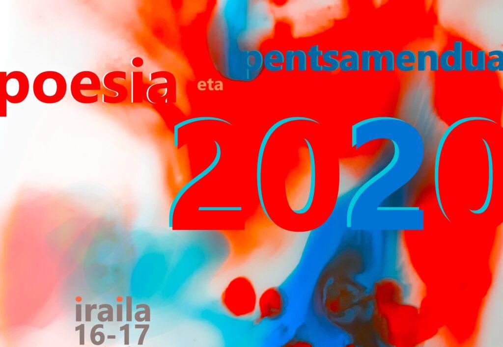 'Poesia  eta  Pentsamendua'  jardunaldiak  egingo  dituzte  irailaren  16an  eta  17an,  Donostian