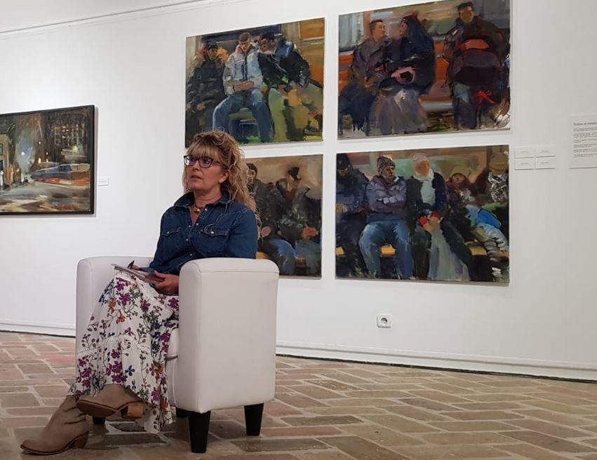 Diana  Iniestak  'Zaurgarria'  erakusketa  paratu  du  Iruñean,  Bronxetik  Baztanera  doan  ibilbide  pertsonala