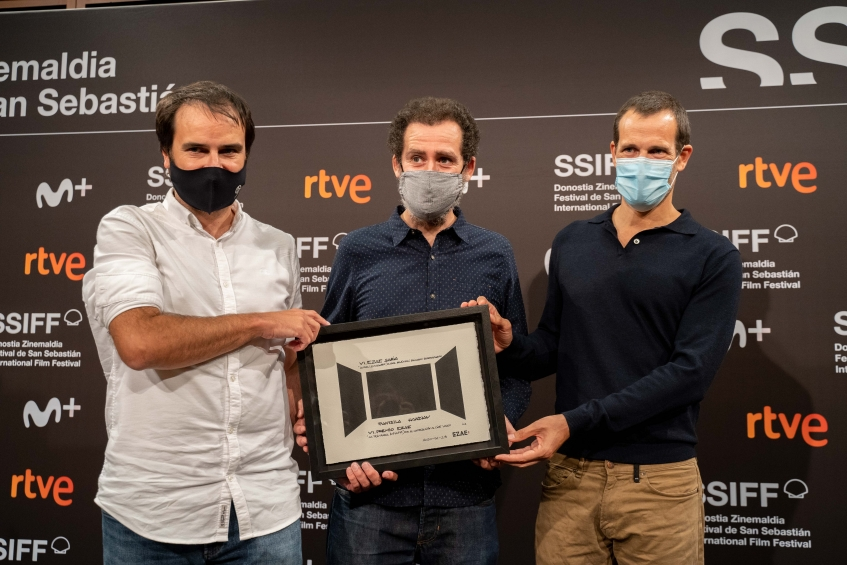 'La  trinchera  infinita'  filmak  jaso  du  VI.  EZAE  Saria