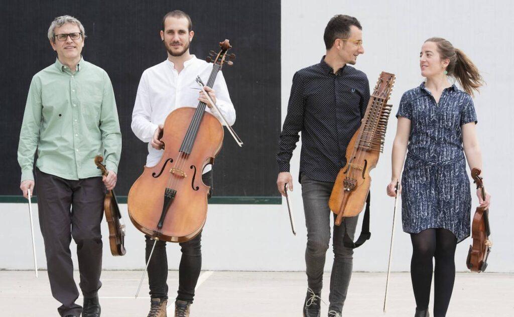 Alos  Quartet-ek  XX.  urteurrena  ospatuko  du  Loraldia  Udagoienean  eskainiko  duen  kontzertu  bereziarekin