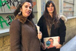 [BIDEOA]  Eider  eta  Arrate  Rodriguezek  'Oilasko  hegalak'  album  ilustratua  plazaratu  dute