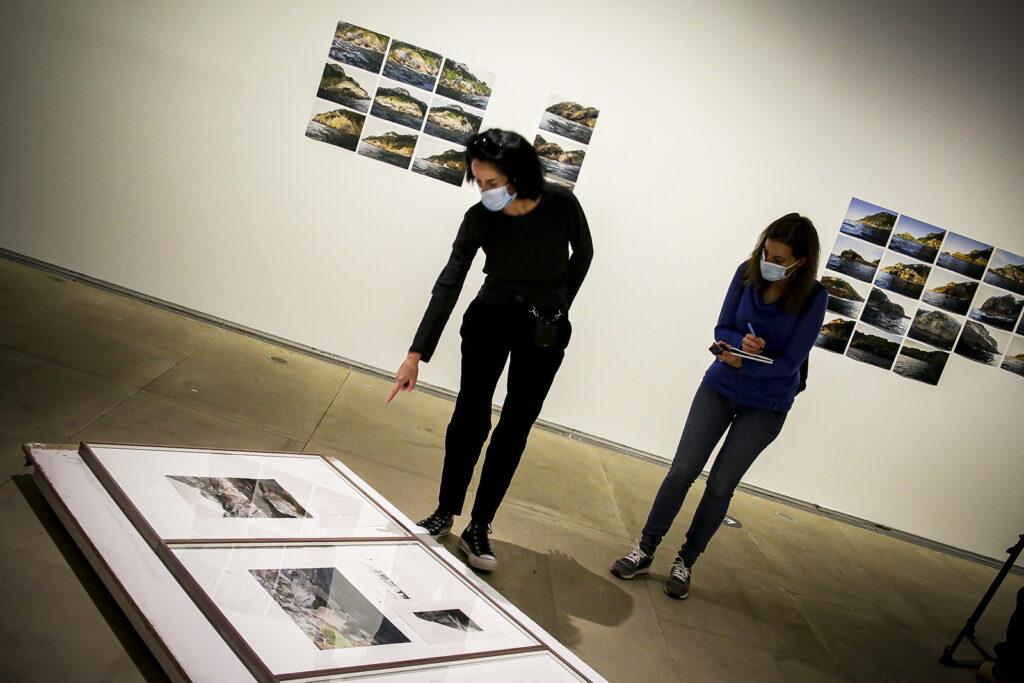 San Telmo Museoak Erlea Maneros artistaren 'Norusta' erakusketa aurkeztu du