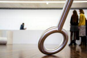 Nagore  Amenabarro  artistaren  Platina  erakusketarekin  abiatu  da  'Artea  abian'  proiektua