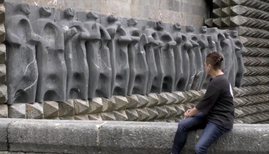 Itziar  Okarizen  'Estatuak'  Jorge  Oteiza  Museoan  ikusgai