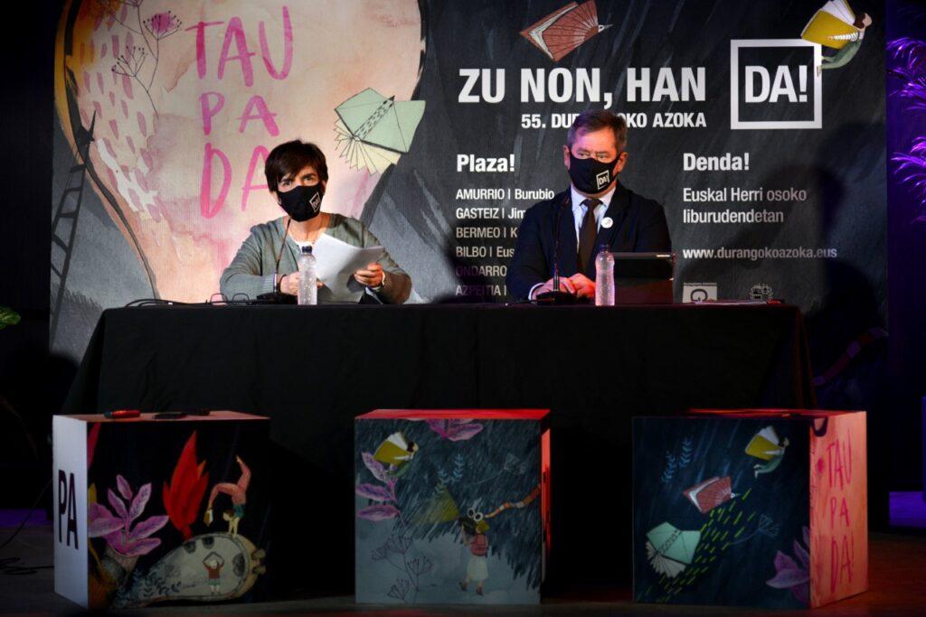 'Zu  non,  han  DA!'  egitasmoaren  bidez,  Durangoko  Azokako  55.  edizioa  Euskal  Herrira  zabalduko  da
