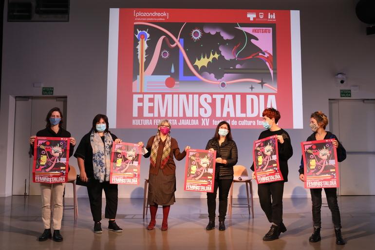 Gaur  abiatuko  da  Feministaldia  Donostiako  Tabakaleran