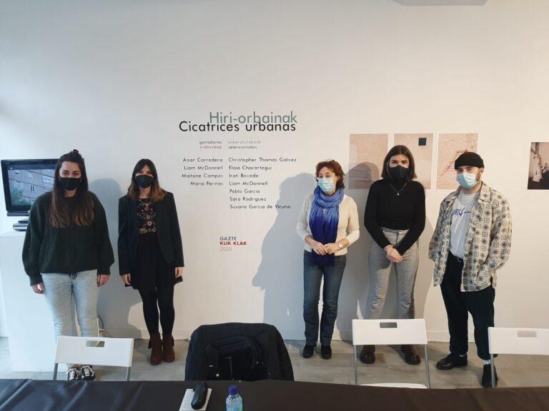 Gazte  Klik  Klak  lehiaketaren  'Hiri  orbainak'  erakusketa  otsailaren  14ra  arte  ikusgai  ARTgian