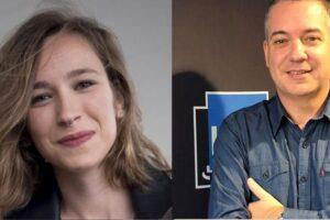 Edurne  Azkarate,  Franck  Dolosor  eta  Ilaski  Serrano  Ahoskera  Laborategiaren  mahainguruan
