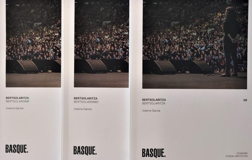 Euskal  kulturari  eskainitako  bildumako  'Basque.  Bertsolaritza'  liburua  berreditatu  dute