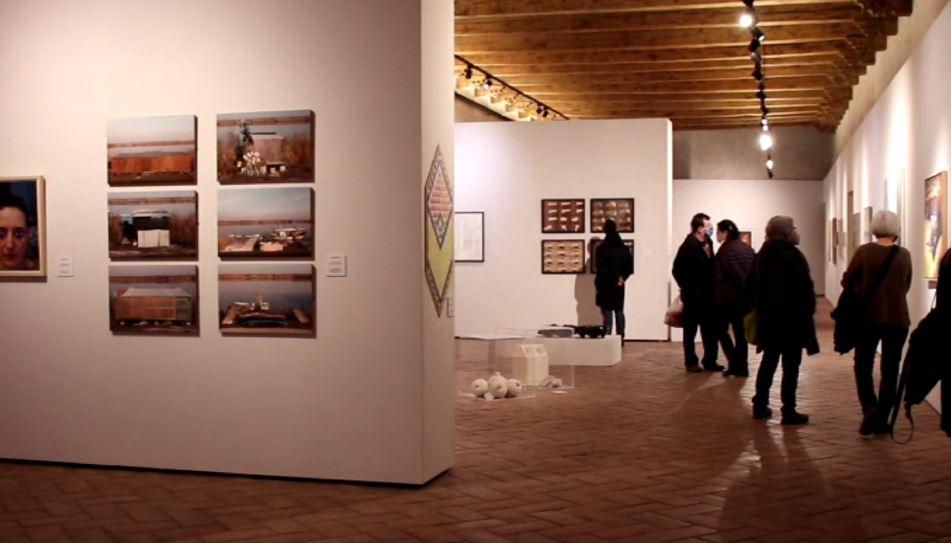 'Artea  oinez'  erakusketa  artistikoa  Iruñeko  Kondestablen  ikusgai