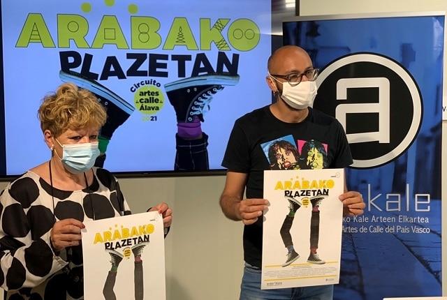 Kaleko arteak Arabako plazetara egingo du jauzi irailaren 25era arte