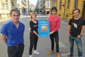 Hainbat  herri  ekimen  eta  eragilek  'Pantailak  euskaraz'  mugimendua  sortu  dute