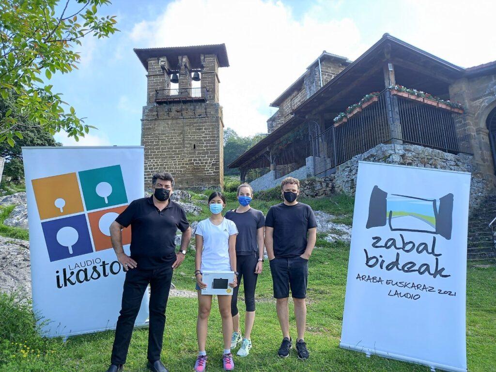 Jugatx Jiashang Larrakoetxeak irabazi du Euskal Herriko ikastolen Komiki Lehiaketa