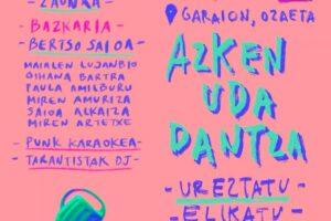 Gasteizko  Bilgune  Feministak  Azken  Uda  Dantza  kultur  ekitaldia  antolatu  du  larunbaterako,  Ozaetan