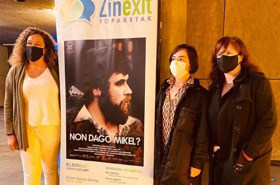 'Non dago Mikel?' dokumentalak emango die hasiera Bilboko Zinexit Topaketei